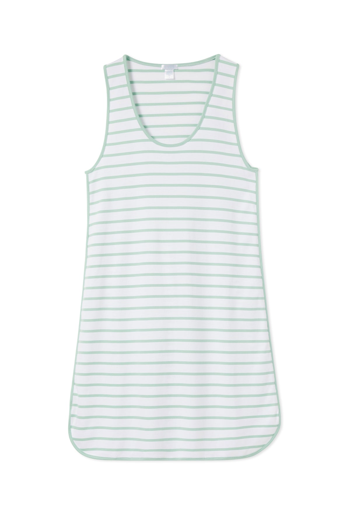 Pima Tank Gown in Spring Green