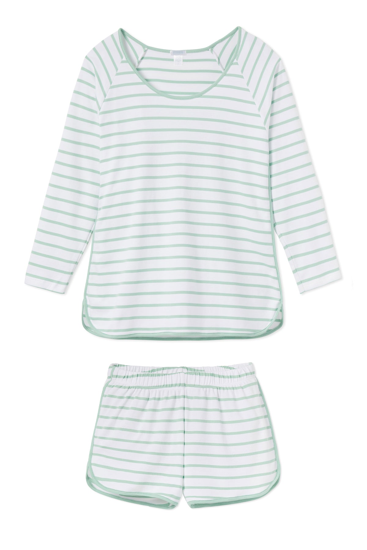 Pima Long-Short Set in Spring Green