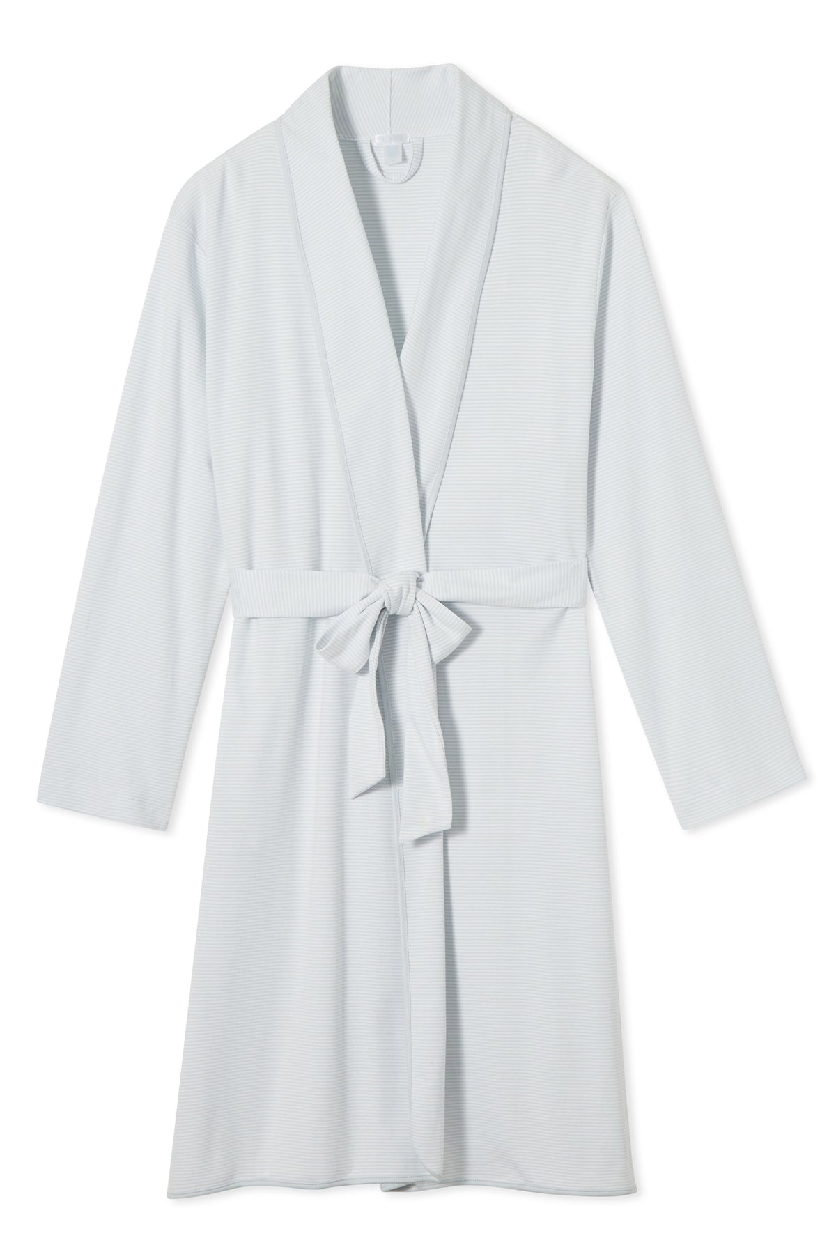 Pima Robe in Starry Stripe