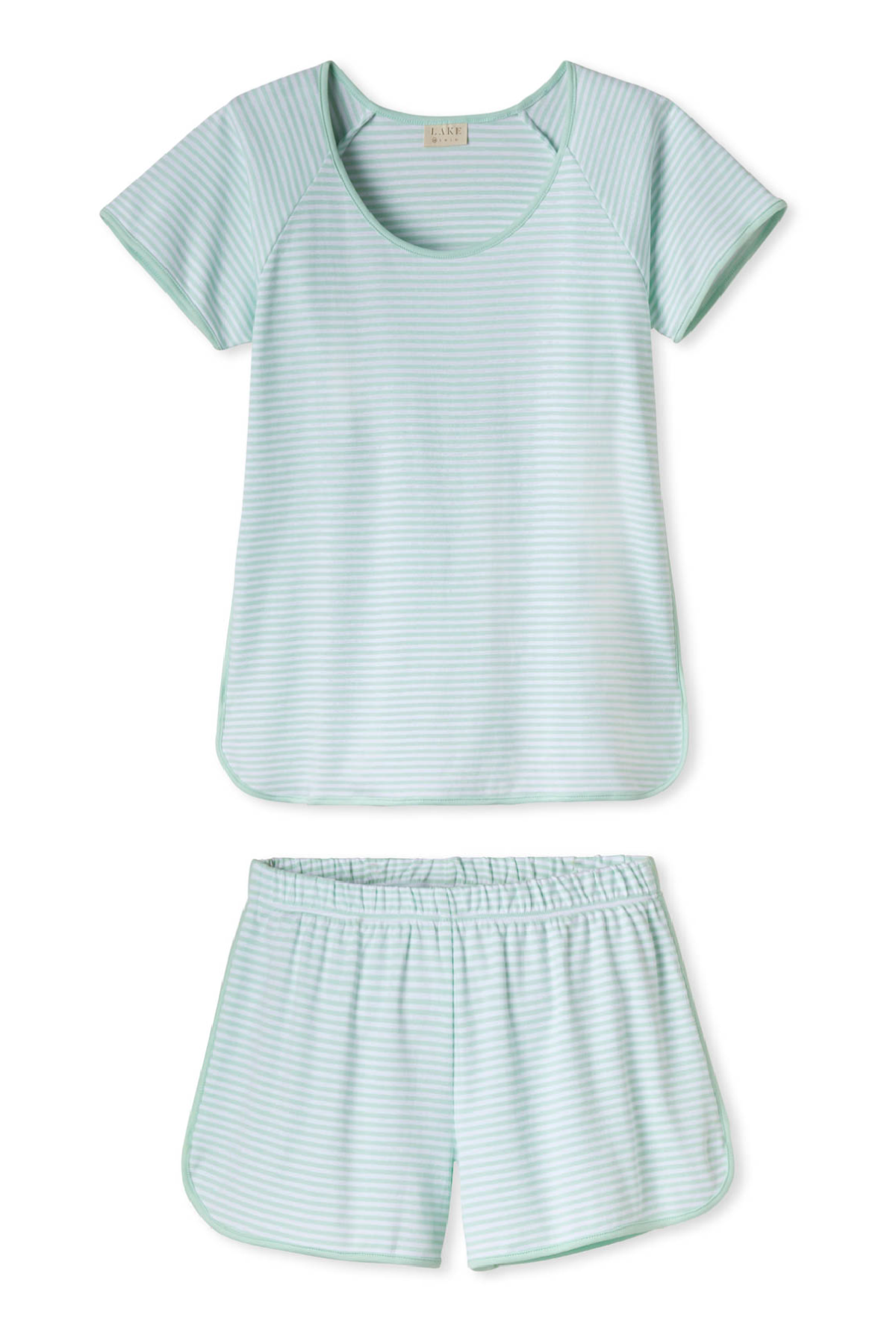 Pima Shorts Set in Mint
