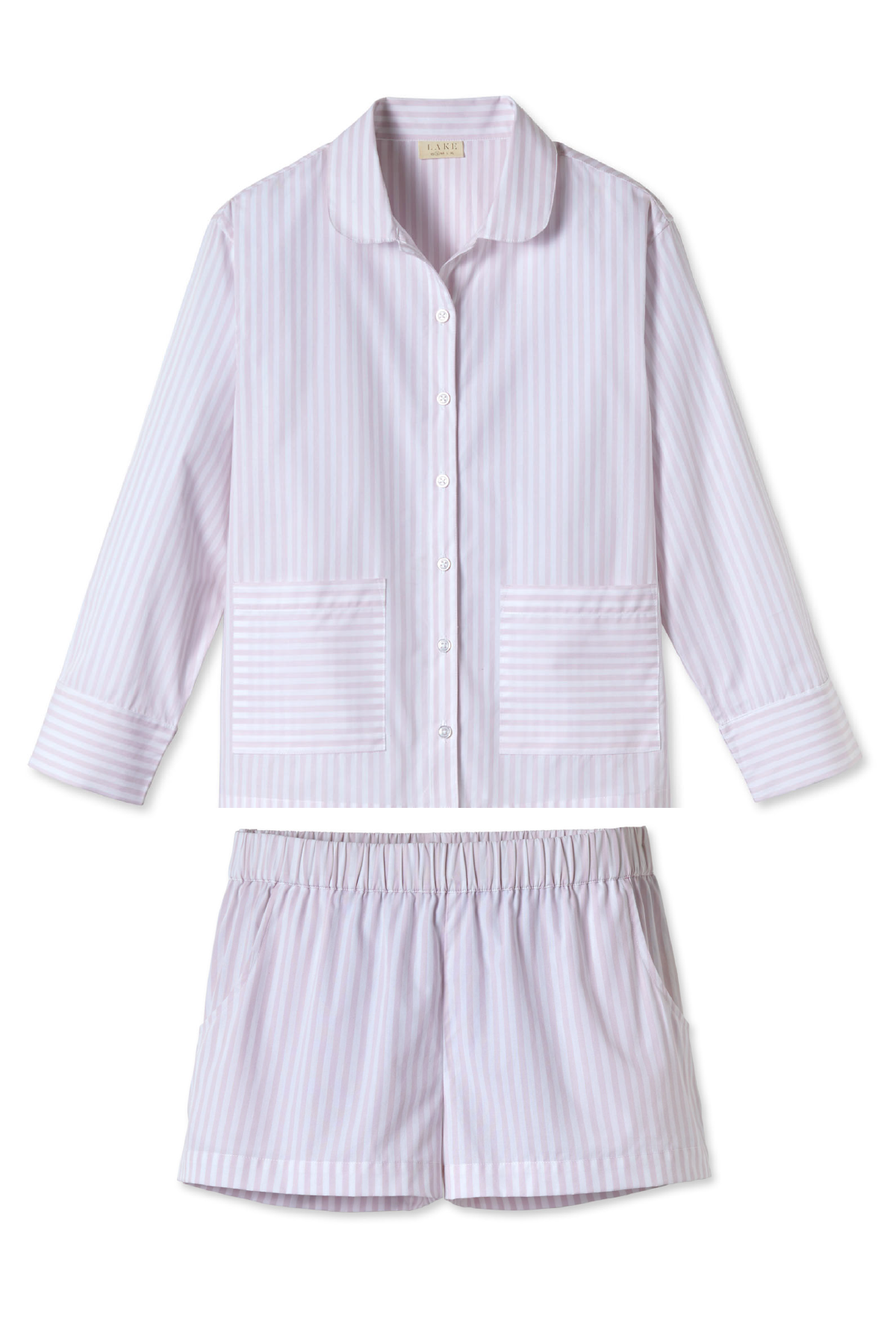 Poplin Shorts Set in Twilight