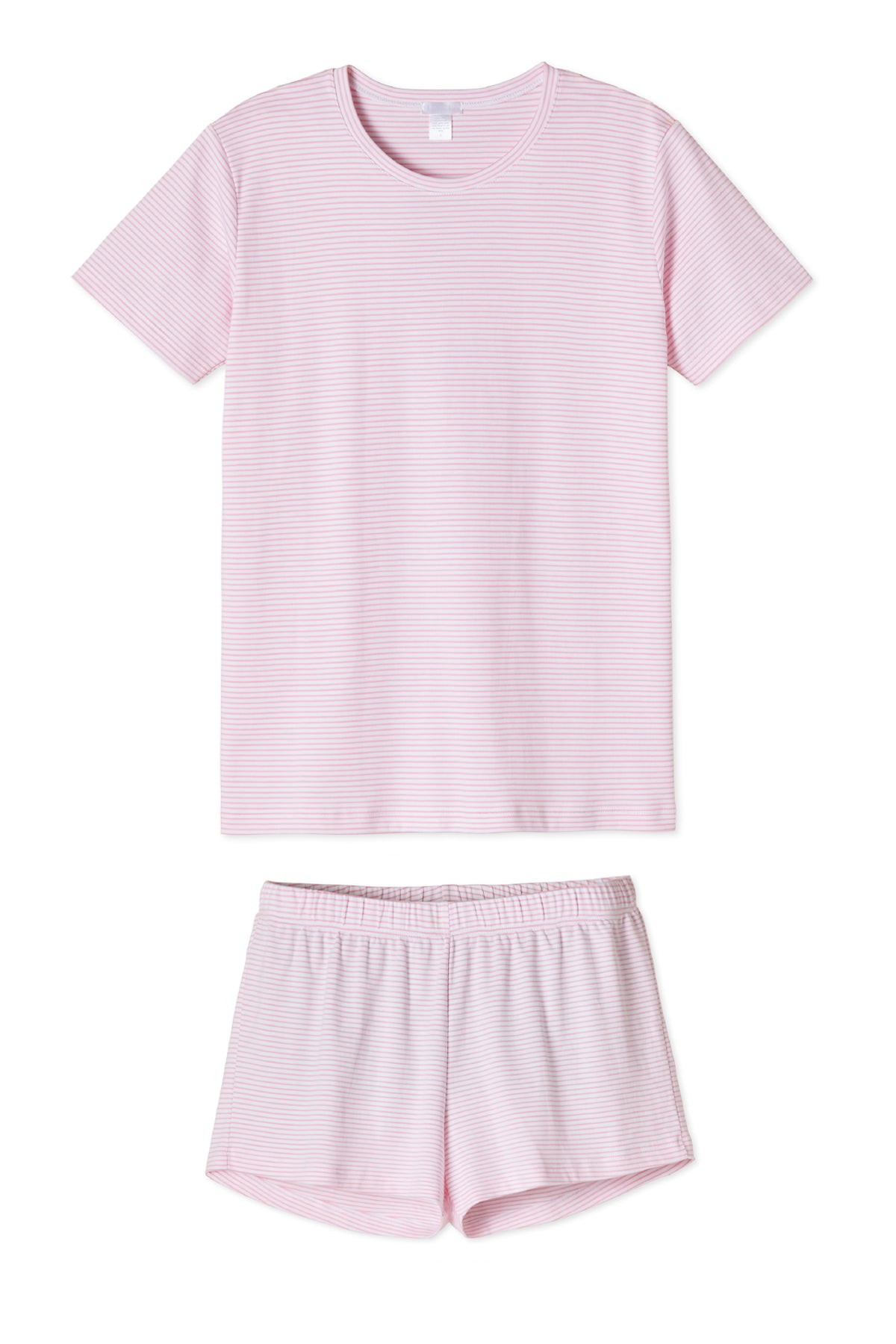 Pima Weekend Shorts Set in Lily