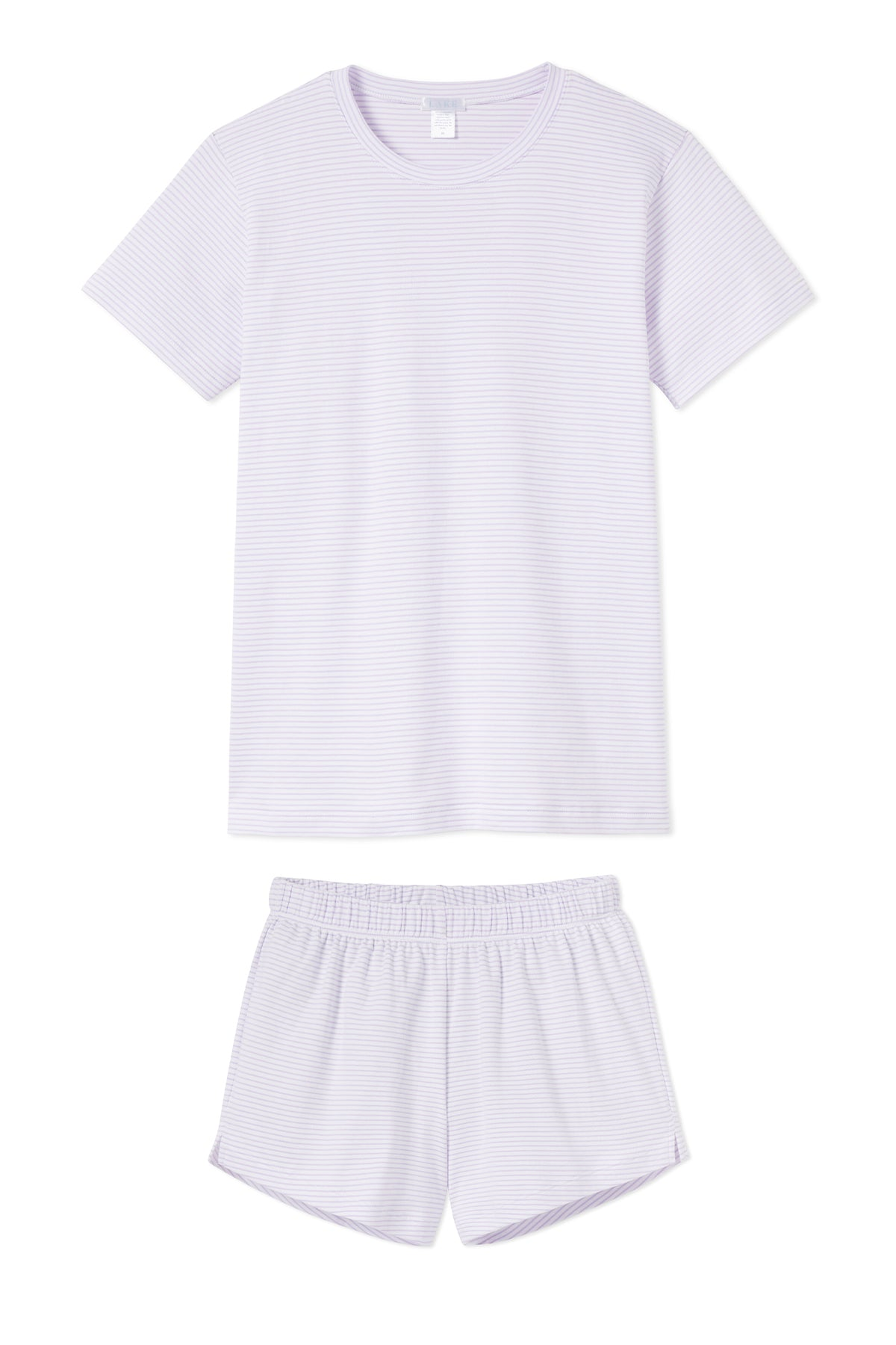 Pima Weekend Shorts Set in Wisteria