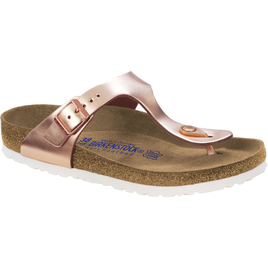 בירקנשטוק כפכפי נשים קופר מטאלי Birkenstock Gizeh  Metallic Copper (4532310343754)