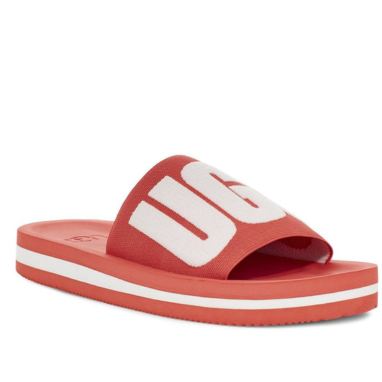כפכפי נשים UGG Zuma Graphic POP Coral (4588944195658)