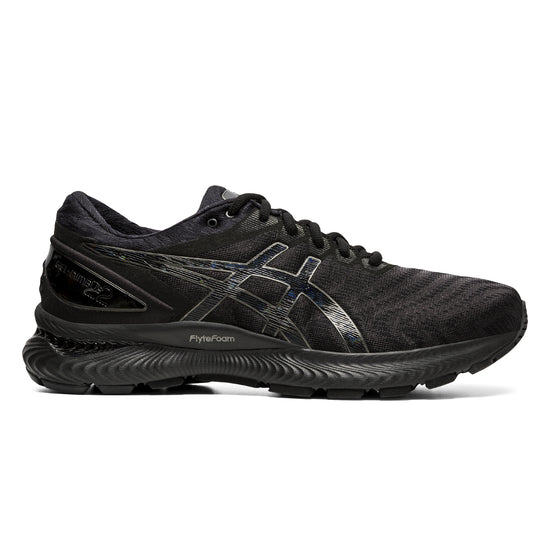 asics gel nimbus 22 man Black   ג'ל נימבוס 22 שחור  גבר