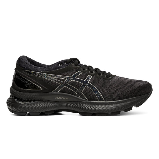 asics gel nimbus 22 woman Black   ג'ל נימבוס 22 שחור נשים