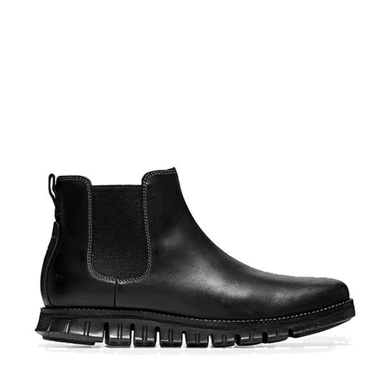 נעלי גברים קול האן Cole Haan ZERØGRAND Chelsea WP Black (6026775199927)