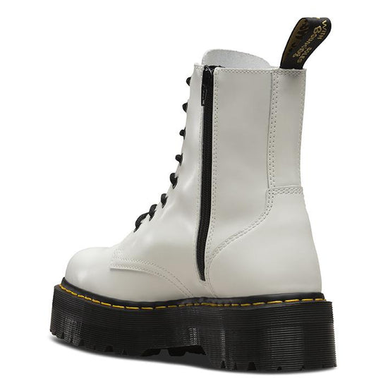 נעלי ד״ר מרטינס Dr. Martens Eye Boot Jadon White Polished Smooth (4732595011658)