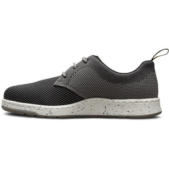 נעלי ד״ר מרטינס גברים Dr Martens Cavendish Knit Mid Grey Black (4428714639434)