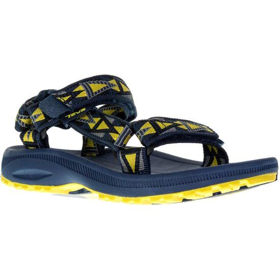 סנדלי ילדים TEVA Hurricane 2 Mosaic Navy Yellow (4593420828746)