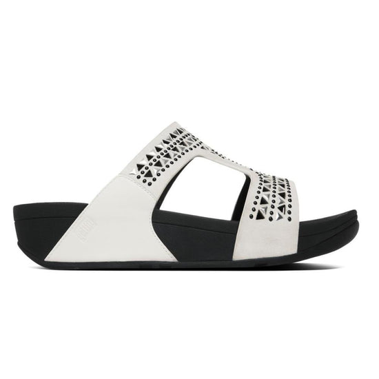 פיט פלופ כרמל סלייד לבן Fit-Flop Carmel Slide Urban White (4538686505034)