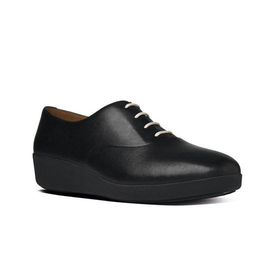 פיט פלופ פ-פופ אוקספורד שחור Fit-Flop F-pop Oxford All Black (4538682441802)