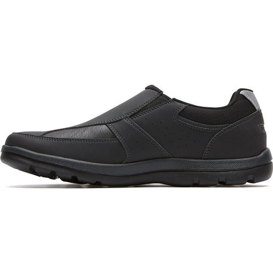 נעלי Rockport Get Your Kicks Slip-On שחור - TOPSHOES (4385028702282)