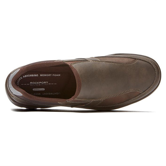 נעלי Rockport Get Your Kicks Slip-On חום - TOPSHOES (4385028997194)