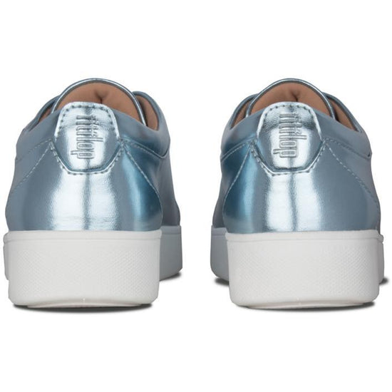 פיט פלוט ראלי מטאלי כחול מטאלי Fit-Flop Rally Metallic Sneakers - TOPSHOES (4395495424074)