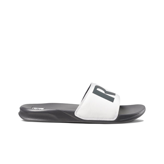 כפכפי גברים ריף REEF ONE SLIDE GREY WHITE (4587969544266)