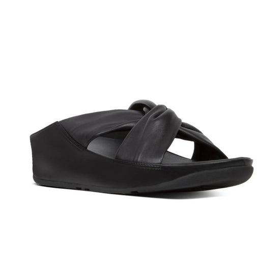 פיט פלופ טוויס שחור Fit-Flop Twiss Black (4527272132682)
