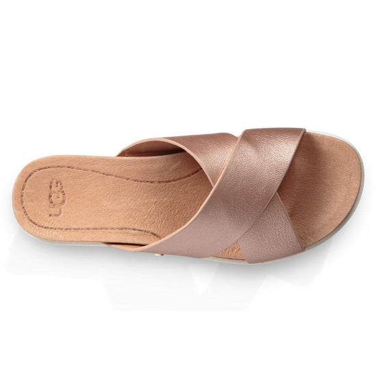 כפכפי נשים קרי מטאלי רוז גולד UGG Kari Metallic Rose Gold (4524770590794)