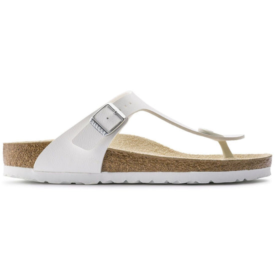 בירקנשטוק כפכפי נשים גיזה לבן Birkenstock Gizeh White (narrow fit) (4537614532682)