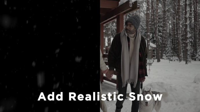 Add Realistic Snow To Your Videos - Beginner After Effects Tutorial