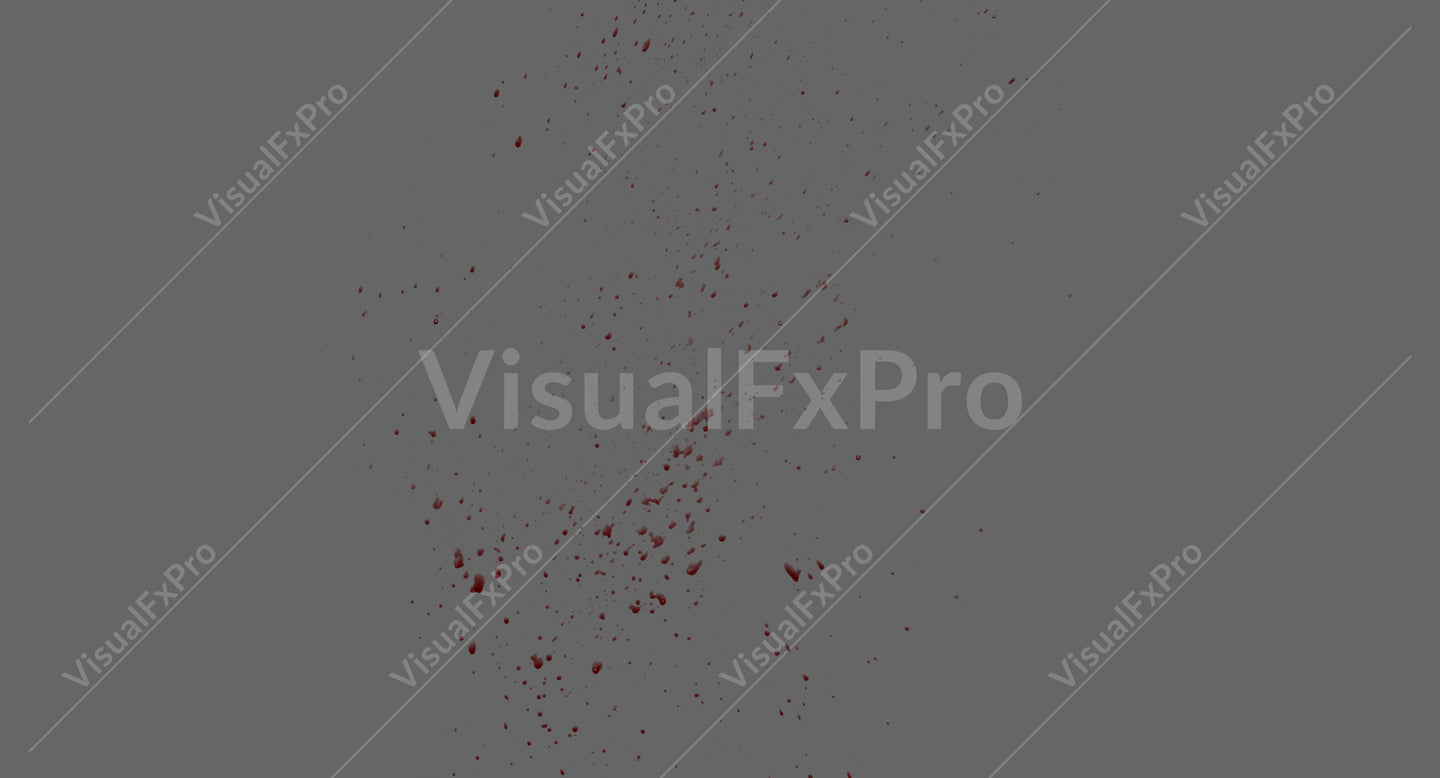 Blood Splatter Angled 07