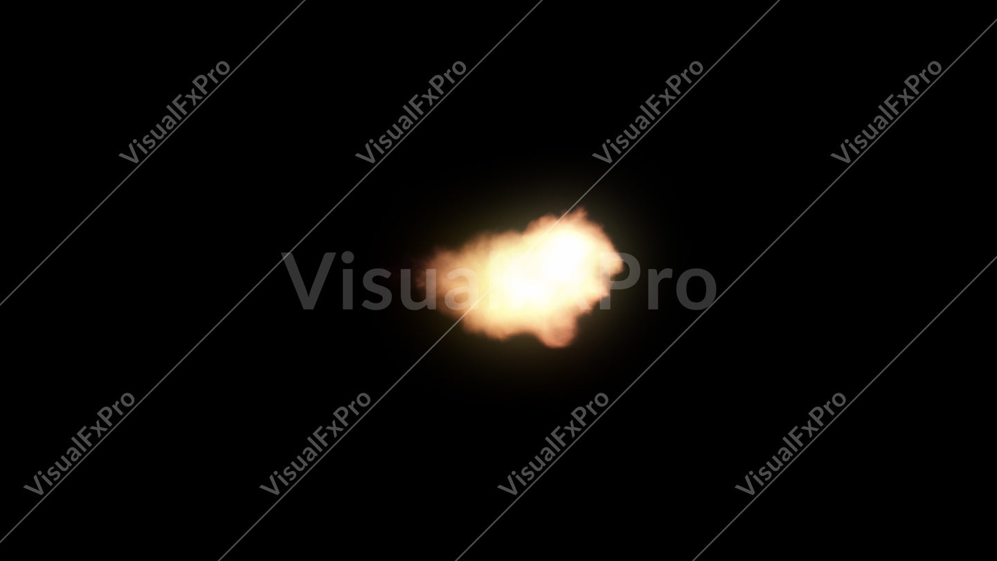 Muzzle Flash - Side 01