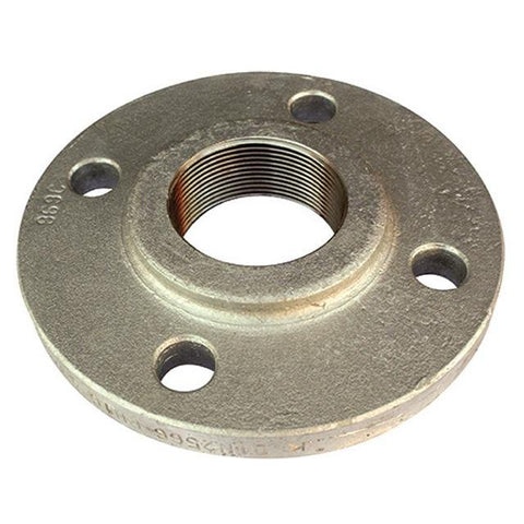 GALVANISED STEEL SCREWED BSPT FLANGE - PN16/4.