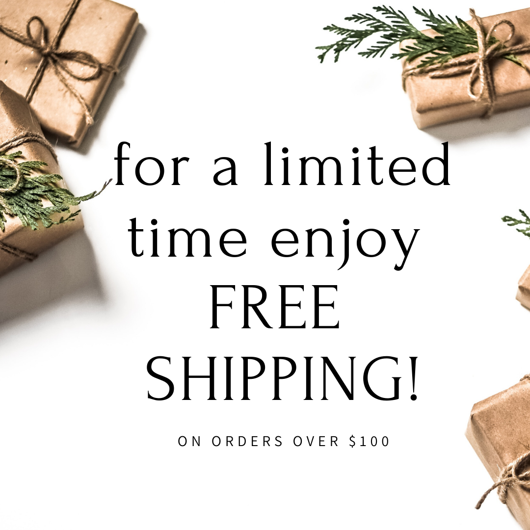 Exciting announcement: new FREE SHIPPING option!