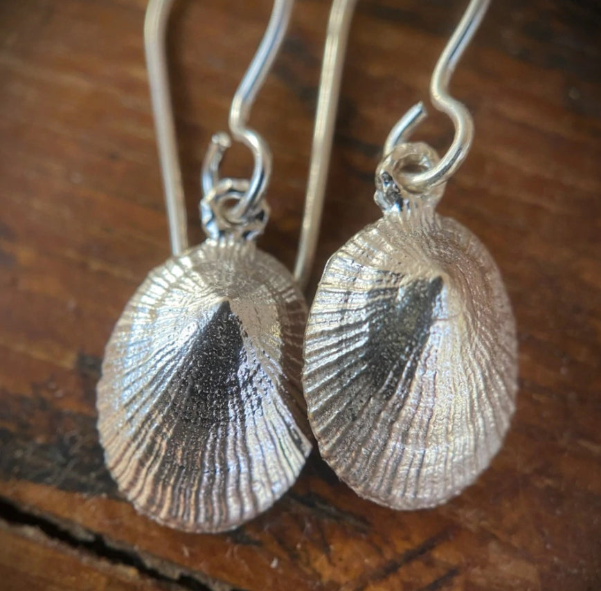 Limpet Shell Earrings (S)