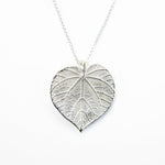 Load image into Gallery viewer, Linden Leaf Pendant (L)