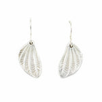 Load image into Gallery viewer, Linden Pod Leaf Earrings
