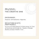 Load image into Gallery viewer, Mussel Shell Earrings