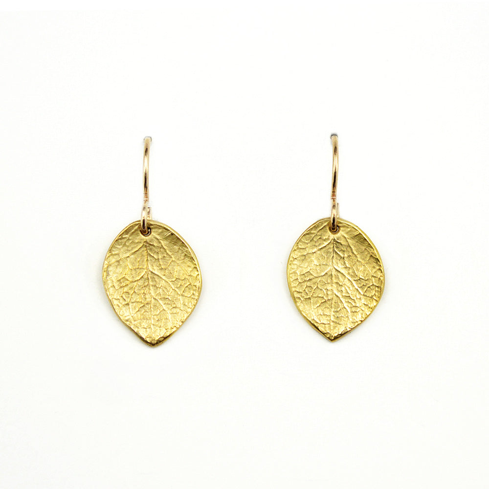 Salal Leaf Earrings (S)
