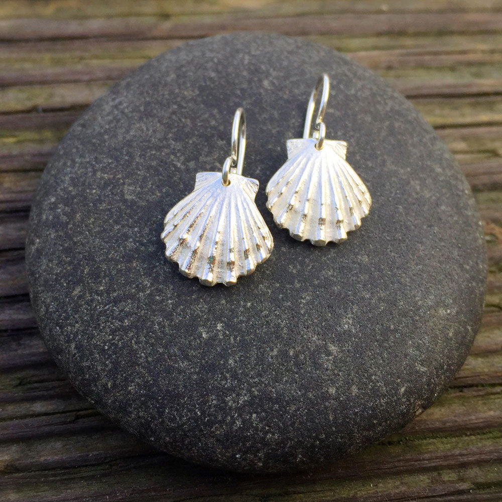 Scallop Shell Earrings