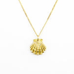 Load image into Gallery viewer, Scallop Shell Pendant (S)