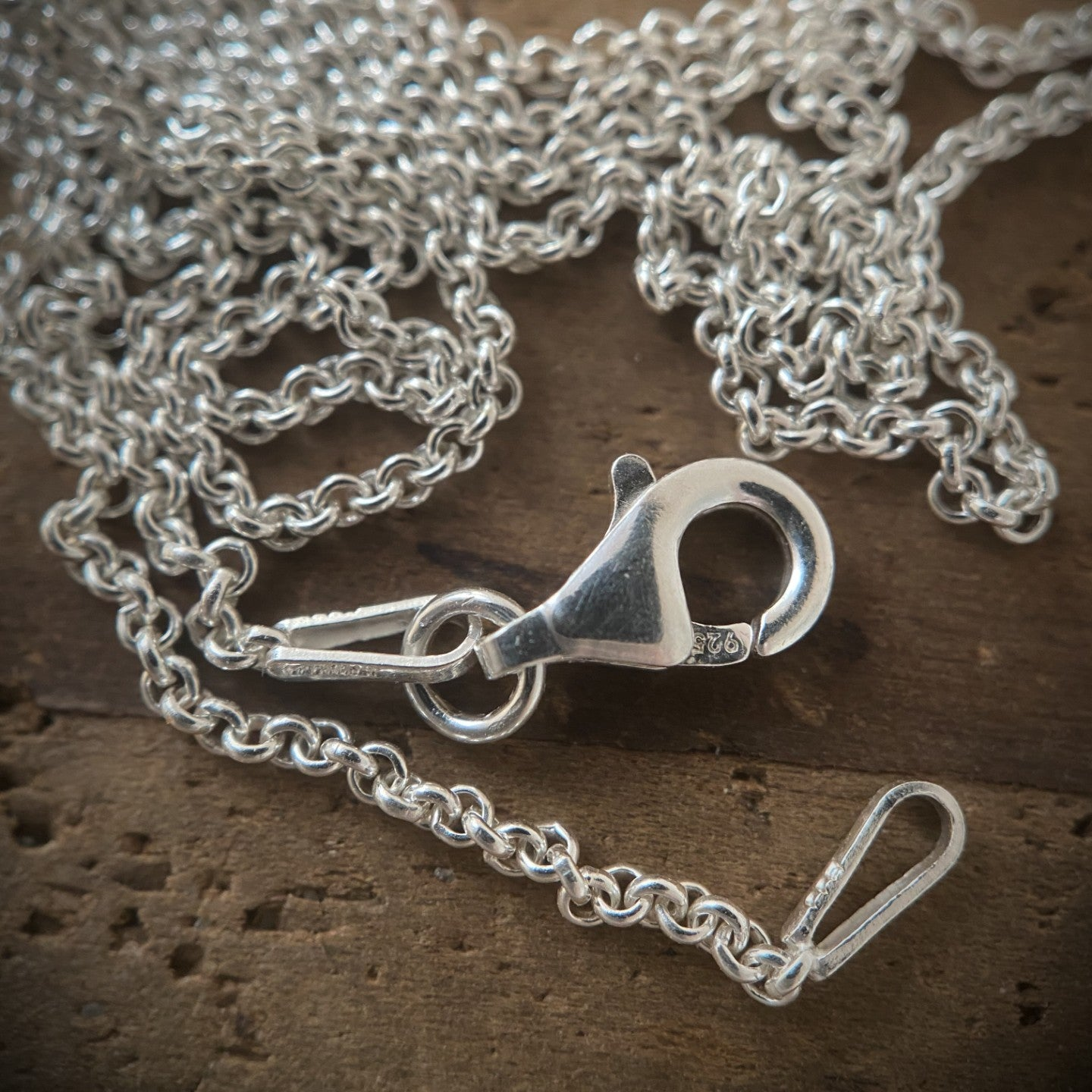The Silver Goddess - Sterling Silver Rolo Chain