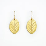 Load image into Gallery viewer, Smokebush Leaf Earrings