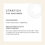 Load image into Gallery viewer, Starfish Shell Pendant (L)