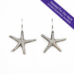 Load image into Gallery viewer, Starfish Shell Earrings (L)