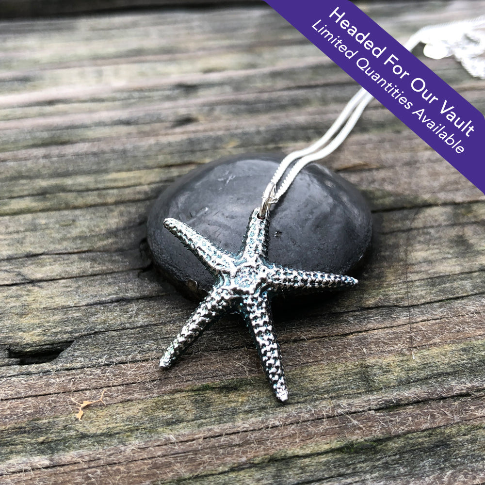 Starfish Shell Pendant (S)