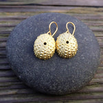 Load image into Gallery viewer, Sea Urchin Shell Earrings
