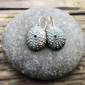 Sea Urchin Shell Earrings