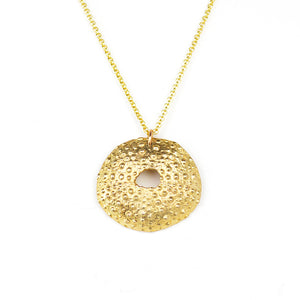 Sea Urchin Shell Pendant (M)