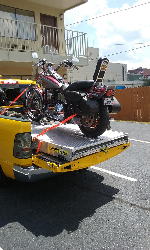 Loadall loading ramp-Made a great impression on fellow bikers