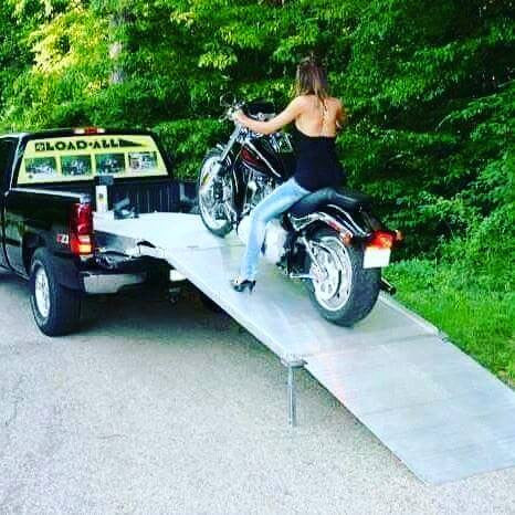 Are you sick of pulling a trailer or loading with scetchy ramps?