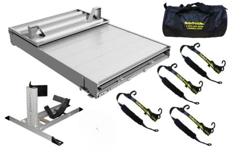 LoadAll Motorcycle Ramp Bundle Pack - Mid Size Truck Edition