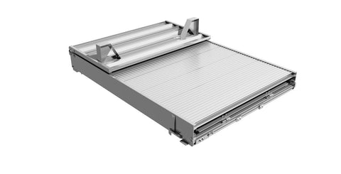 self storing loading ramp for 6 foot short bed trucks