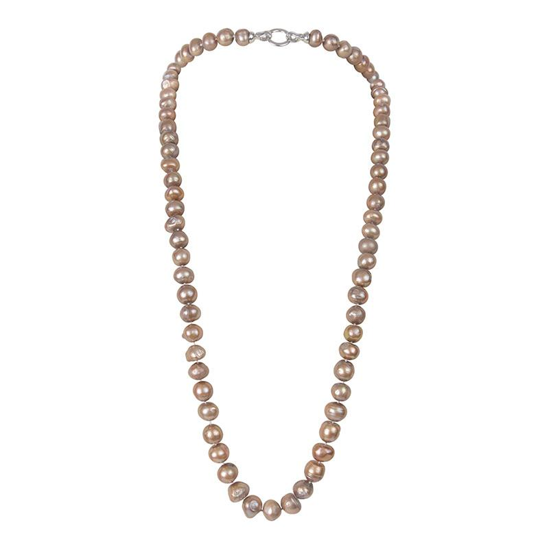 "CHAMPAGNE 34"" BAM BAM NECKLACE"