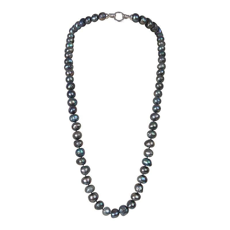 "BLACK 34"" BAM BAM NECKLACE"